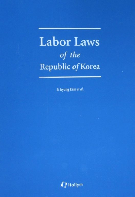 Labor Laws of the Republic of Korea